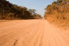Auf einer Autobahn-Kongo
