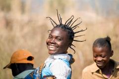 Ihre Haare-Kongo