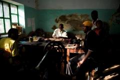In der Werkstatt-Kongo
