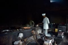 In einer Gasthauskuche-Athiopien