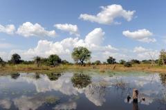 Seespiegelung-Burkina Faso