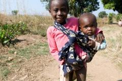 Zwei Kinder-Kongo