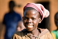 Bub mit Mütze-Kongo