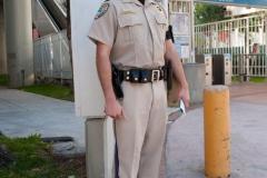 Ein Polizistin Miami