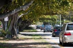 Eine Straße in Miami