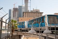 Hochbahn in Miami