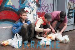 UKRAINE-Natpis
