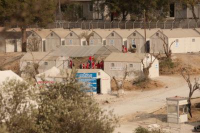 EU-Hotspot auf Lesbos: Gewalt-Ausbruch erscheint unausweichlich